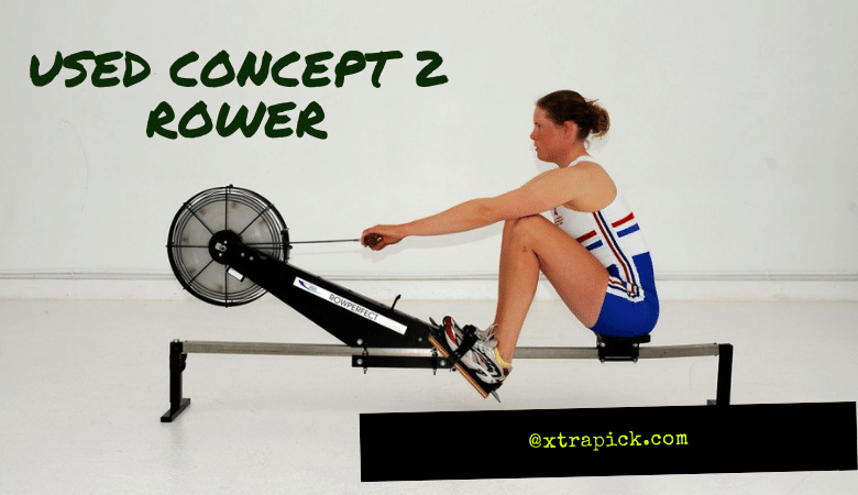 Used Concept 2 Rower