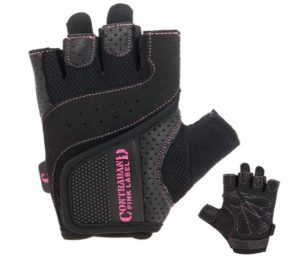 Contraband Pink Label 5137 Womens Padded Weight Lifting Gloves